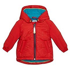 Baker by Ted Baker - Baby boys' red quilted padded jacket