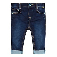 Baker by Ted Baker - Boys' blue ultra stretch sweat jeans
