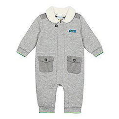 Baker by Ted Baker - Baby boys' grey quilted all in one