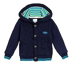 Baker by Ted Baker - Baby boys' navy hooded jacket