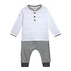 Baker by Ted Baker - Baby boys' grey top and jogging bottoms