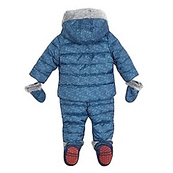 Baker by Ted Baker - Boys' blue three piece snowsuit