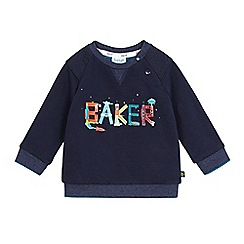 Baker by Ted Baker - Baby boys' graphic logo print sweater