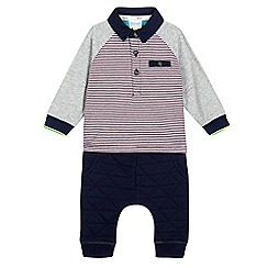 Baker by Ted Baker - Baby boys' striped top and jogging bottoms set