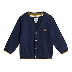 Baker by Ted Baker - Baby boys' navy button cardigan