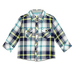 Baker by Ted Baker - Baby boys' green checked shirt
