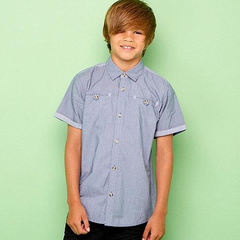 Baker by Ted Baker - Boy+s fine stripe smart shirt