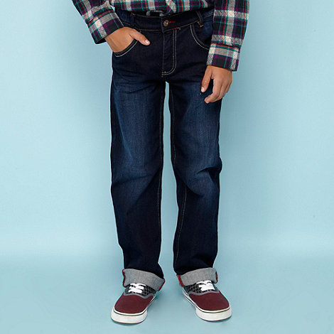 Baker by Ted Baker - Boy+s blue straight leg jeans