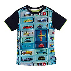 Baker by Ted Baker - Boys' navy car print top