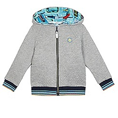 Baker by Ted Baker - Boys' grey sweat zip hoodie