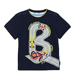 Baker by Ted Baker - Boys' navy race car applique t-shirt