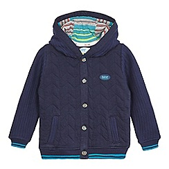 Baker by Ted Baker - Boys' navy hooded jersey jacket