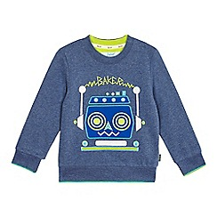 Baker by Ted Baker - Boys' blue robot applique jumper