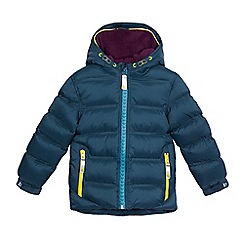 Baker by Ted Baker - Boys' dark green padded fleece lined coat