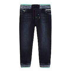 Baker by Ted Baker - Boys' dark blue ribbed waist jeans