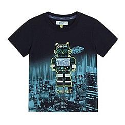 Baker by Ted Baker - Boys' blue robot applique t-shirt