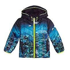 Baker by Ted Baker - Boys' blue city scene print padded coat