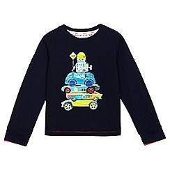 Baker by Ted Baker - Boys' navy robot car print top