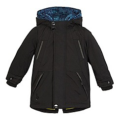 Baker by Ted Baker - Boys' black 3-in-1 coat