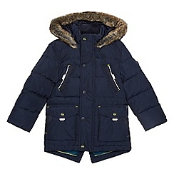 Baker by Ted Baker - Boy's navy quilted coat