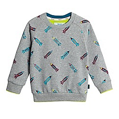 Baker by Ted Baker - Boys' grey rocket print sweater