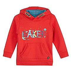 Baker by Ted Baker - Red rocket logo print hoodie