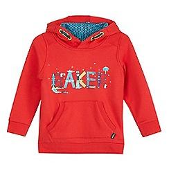 Baker by Ted Baker - Red rocket logo print hoodie