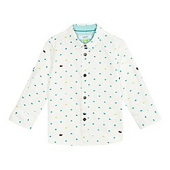 Baker by Ted Baker - Boys' white planet print shirt