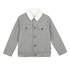Baker by Ted Baker - Boys' grey herringbone jacket