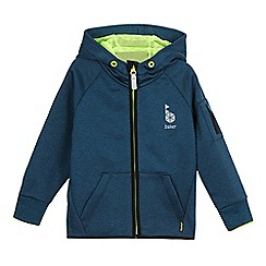 Baker by Ted Baker - Boys' dark turquoise hooded jacket