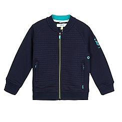 Baker by Ted Baker - Boys' navy quilted bomber jacket