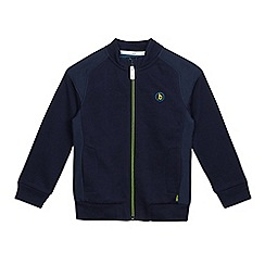 Baker by Ted Baker - Boys' navy zip hoodie