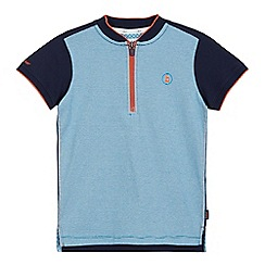 Baker by Ted Baker - Boys' blue striped t-shirt