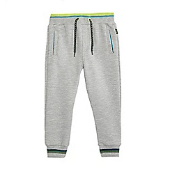 Baker by Ted Baker - Boys' grey ribbed front jogging bottoms