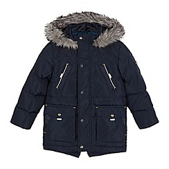 Baker by Ted Baker - Boys' navy down filled parka
