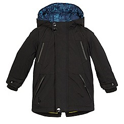 Baker by Ted Baker - Black showerproof 3-in-1 coat