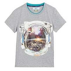 Baker by Ted Baker - Boys' grey space man print t-shirt
