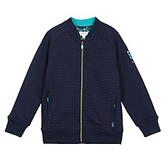 Baker by Ted Baker - Boys' navy wadded bomber jacket