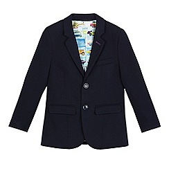 Baker by Ted Baker - Boys' navy Teflon jacket