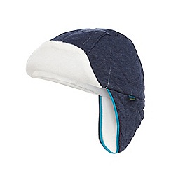 Baker by Ted Baker - Navy jersey trapper hat