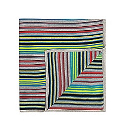 Baker by Ted Baker - Boys' multicoloured striped blanket