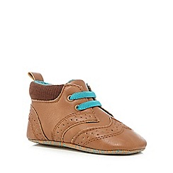 Baker by Ted Baker - Baby boys' light tan brogue shoes