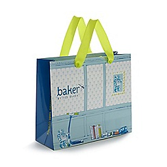 Baker by Ted Baker - Blue printed gift bag