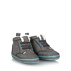 Baker by Ted Baker - Baby boys' grey fleece lined shoes