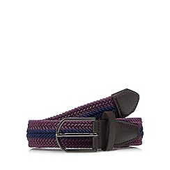 Baker by Ted Baker - Boys' pink woven belt