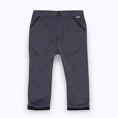 Baker by Ted Baker - Babies blue woven chinos