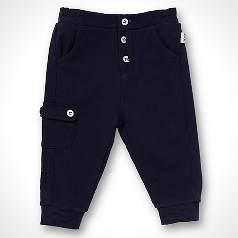 Baker by Ted Baker - Boy+s navy sweat joggers