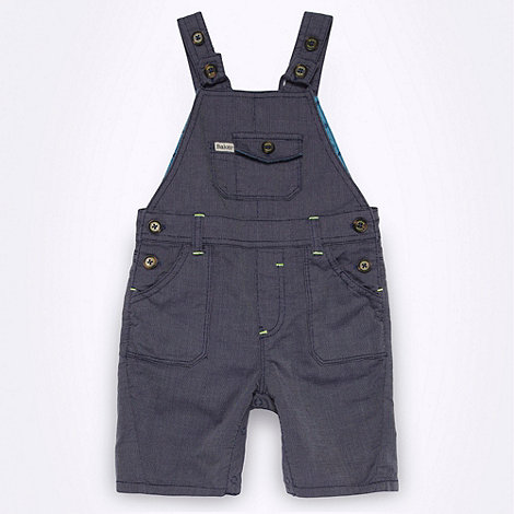 Baker by Ted Baker - Babies blue woven dungarees