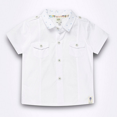 Baker by Ted Baker - Babies white jersey shirt