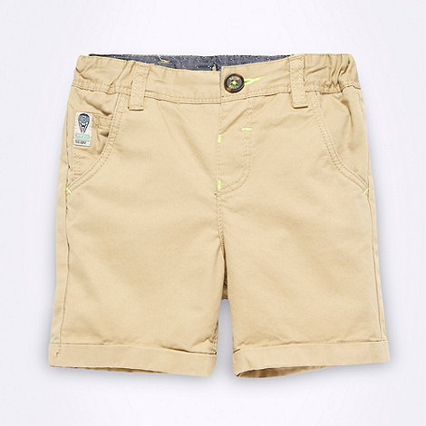 Baker by Ted Baker - Babies natural chino shorts